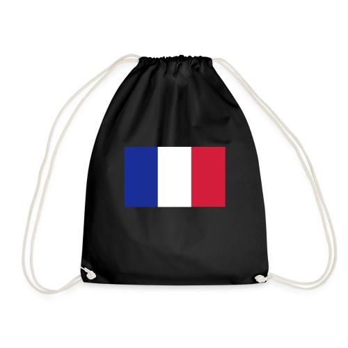 Französische Flagge - Turnbeutel