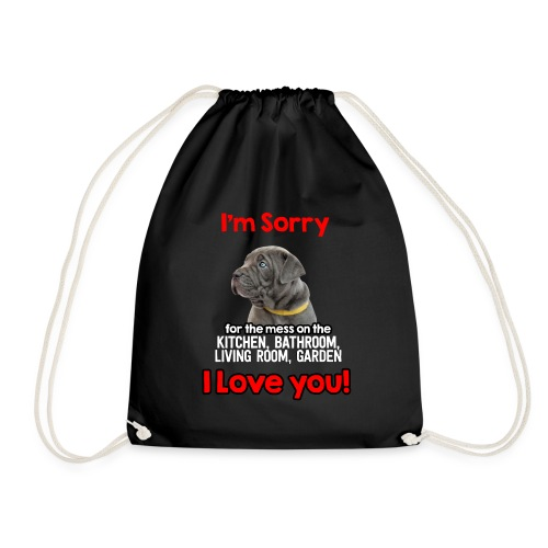 Hund Cane Corso Entschuldigung Tut Mir Leid - Turnbeutel