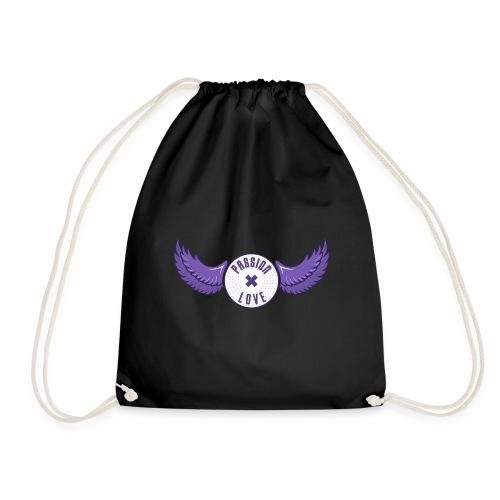 Passion x Love (Purple/Lilac) - Drawstring Bag