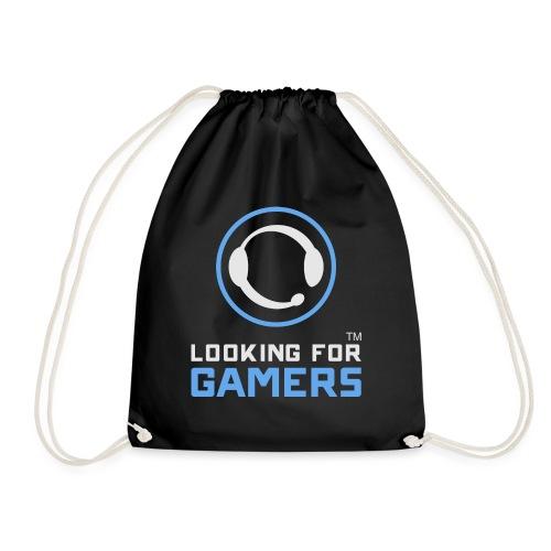 Dark Logo - Drawstring Bag
