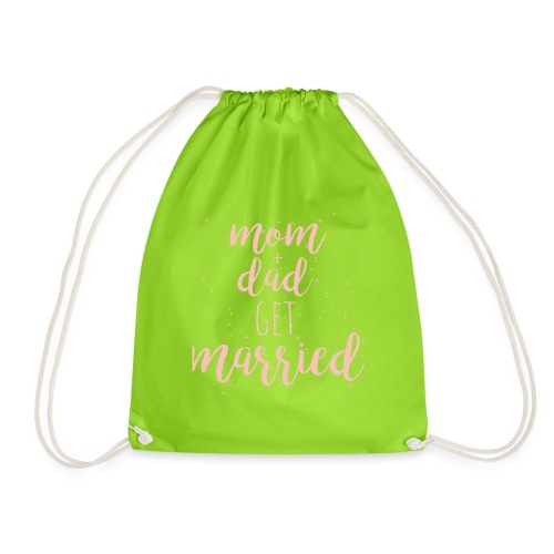 mom & dad get married - Turnbeutel