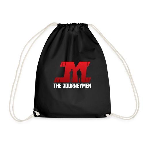 Red White JourneyMen Logo - Drawstring Bag