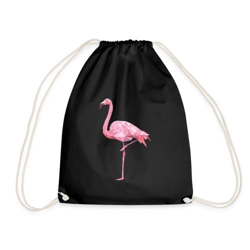 Flamingo-shirt - Turnbeutel