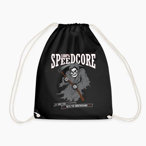 100% Speedcore - Don't F*ck With The Underground - Drawstring Bag