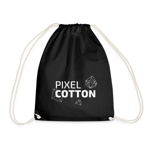 Pixelcotton_polygone_logo - Turnbeutel