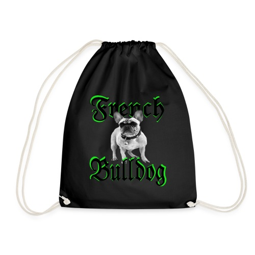 Bulldog Bulldogge Hundekopf Hundeliebhaber Hunde - Turnbeutel
