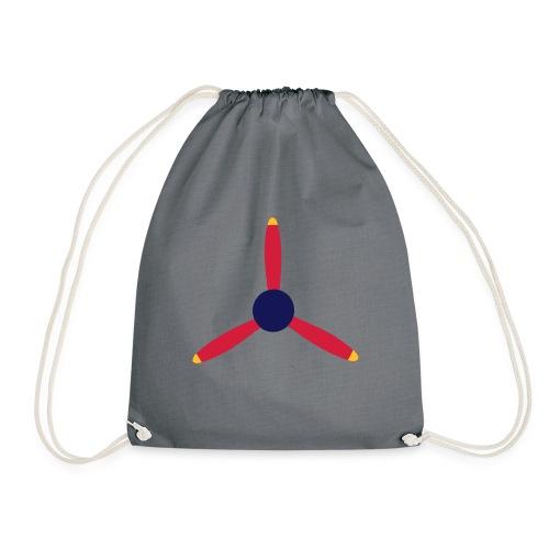 3 blade propeller - Drawstring Bag