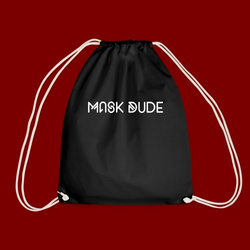 Mask Dude - Drawstring Bag