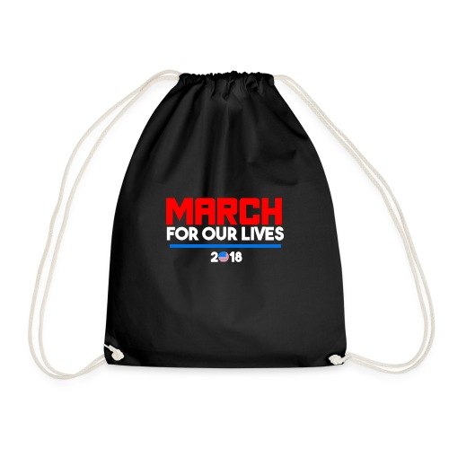 March For Our Lives 2018 T Shirts - Drawstring Bag