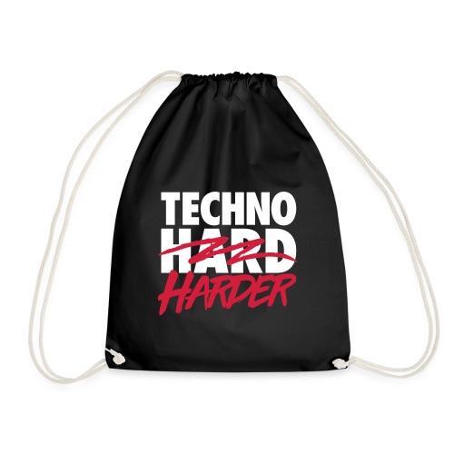 Techno harder - Drawstring Bag
