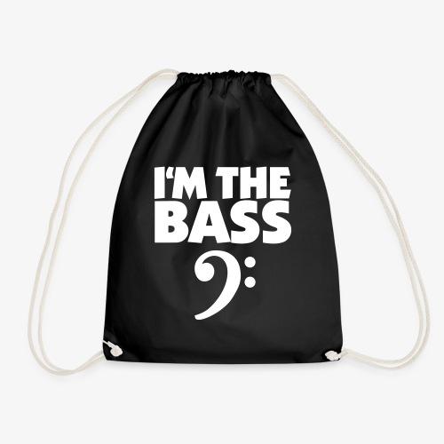 I'm the Bass (Weiß) - Turnbeutel