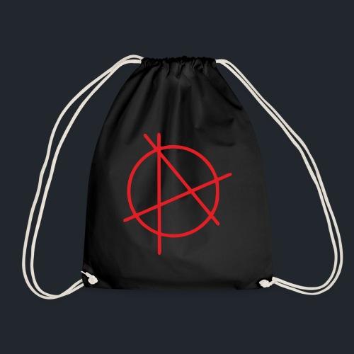Anarchie Logo - Turnbeutel