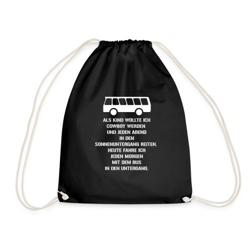 Busfahrer geworden - Turnbeutel
