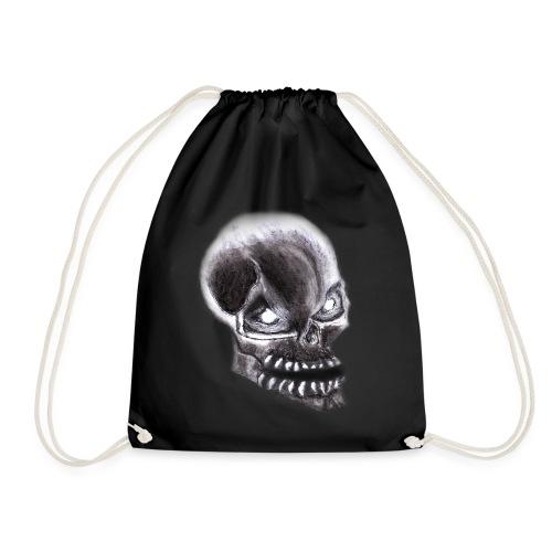 Angry skull - Turnbeutel