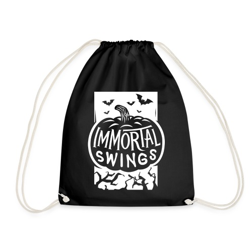Happy Halloween Immortal Swings White - Drawstring Bag