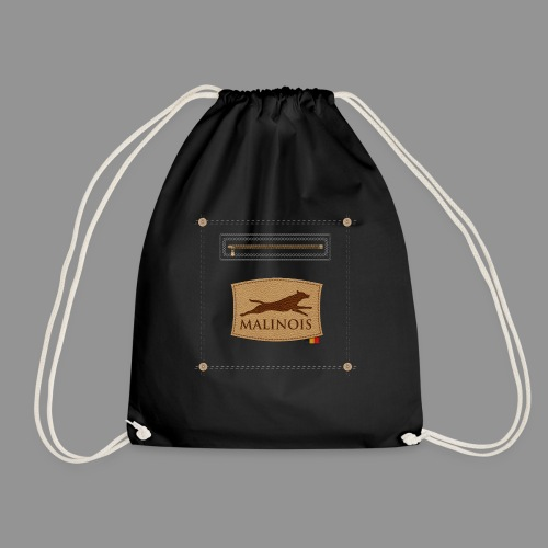 Belgian shepherd Malinois - Drawstring Bag