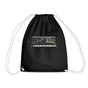 Ms. Twenty pixels Synth #TTNM - Drawstring Bag