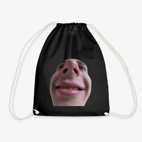 chrisFace - Drawstring Bag