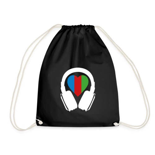 Silent Disco Headphone > Heart | white - Turnbeutel