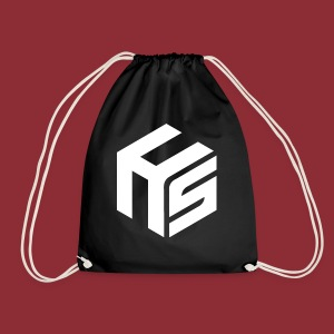 Logo White - Drawstring Bag