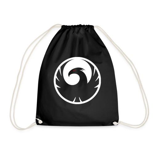 Phönix Logo Schattierung Phoenix weis white rund - Turnbeutel