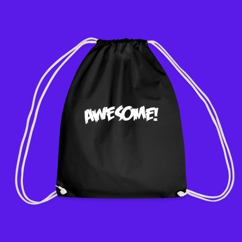 awesome png - Drawstring Bag