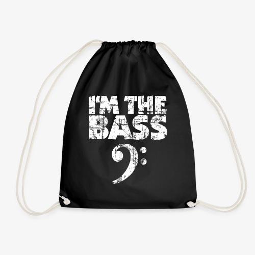 I'm the Bass Vintage White - Turnbeutel