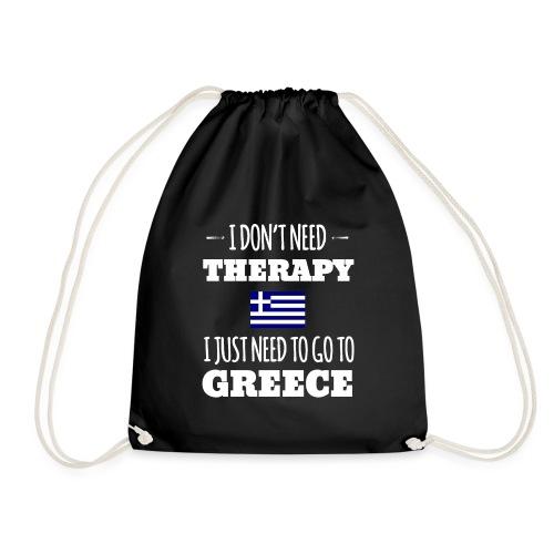 Ich brauch keine Therapie muss nach Griechenland - Turnbeutel