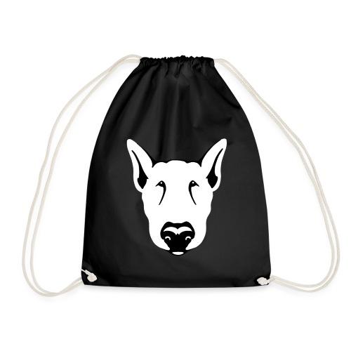 Bull Terrier Head - Drawstring Bag