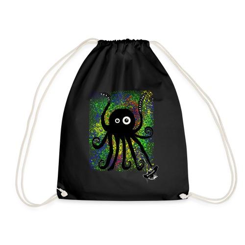 Sweet Octopus by BlackenedMoonArts, with logo - Sportstaske