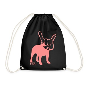 French Bulldogs ROCK! - Drawstring Bag