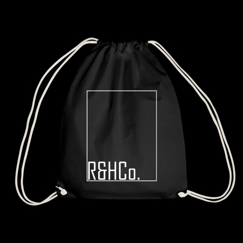 R&HCo. White Logo - Drawstring Bag