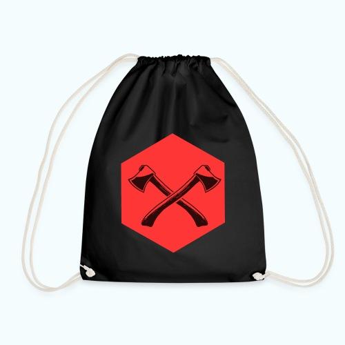 Hipster ax - Drawstring Bag