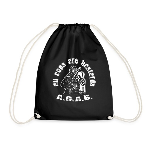 A.CA.B all cops are bastrards - Drawstring Bag