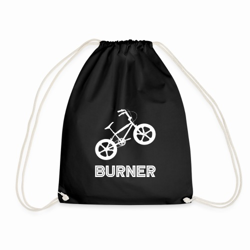 BMX Burner Bike Bicycle Retro Vintage 80's - Drawstring Bag