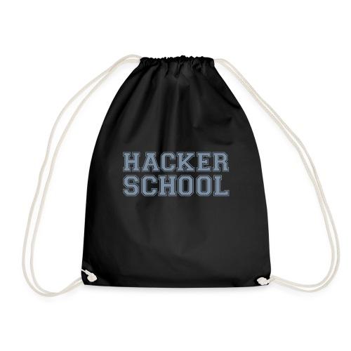 Hacker School ohne Pixel - Turnbeutel