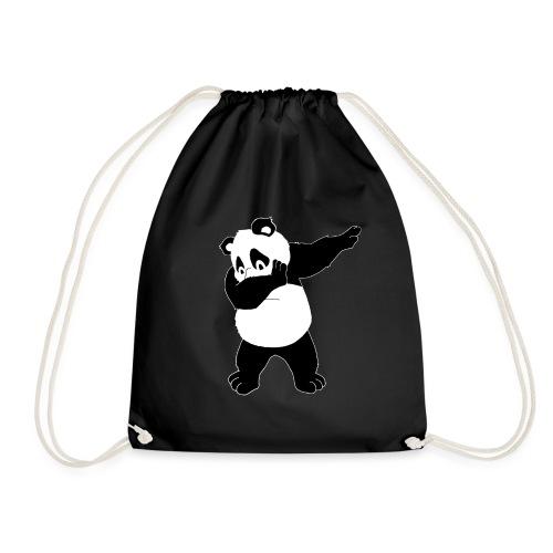 Dabbing Panda Bär - Turnbeutel