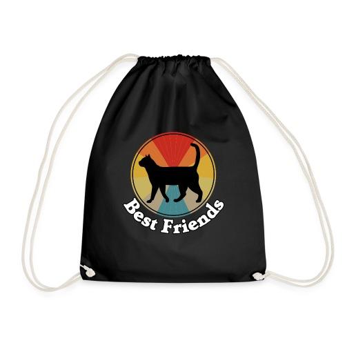 Best Friends - Ich liebe Katzen - Turnbeutel