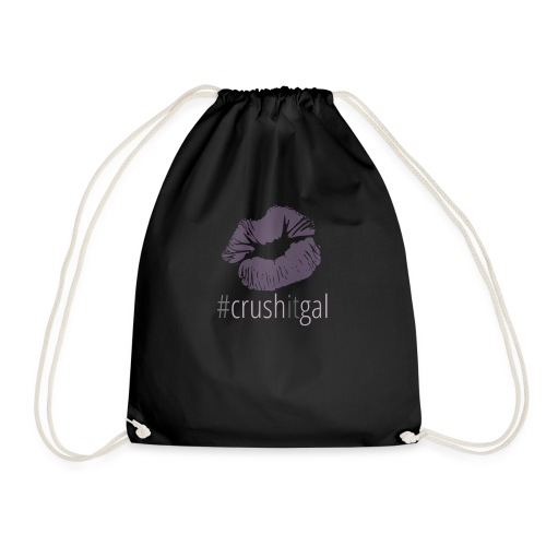 #crushitgal - Drawstring Bag
