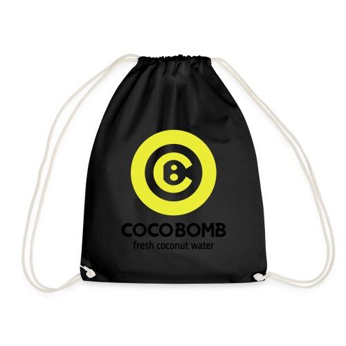 COCOBOMB_logo - Drawstring Bag