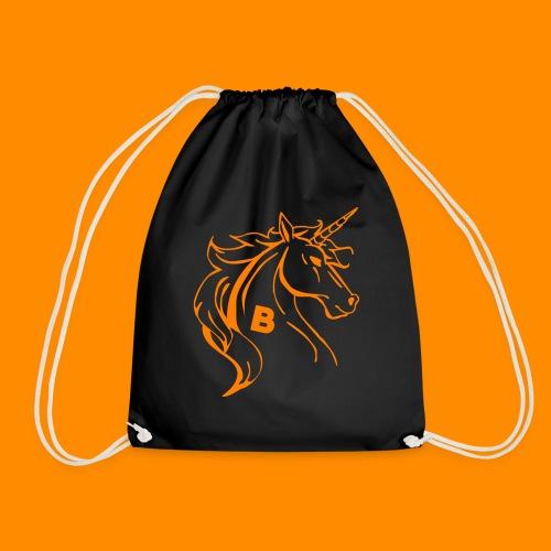 orange biodusty unicorn shirt - Gymtas