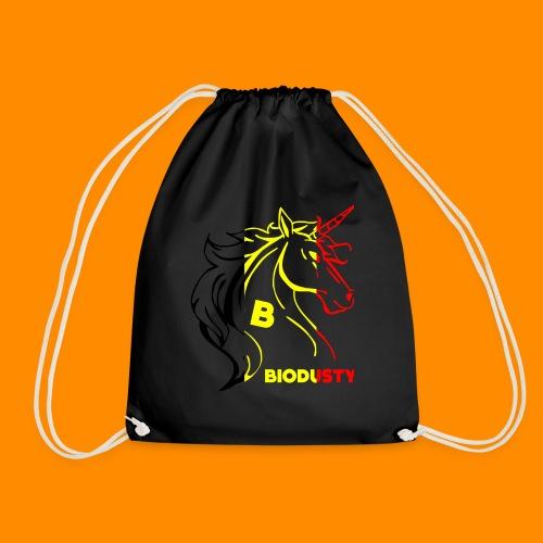 belgian biodusty unicorn hoodie unisex - Gymtas