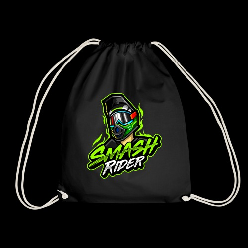 SmashRider Green - Drawstring Bag