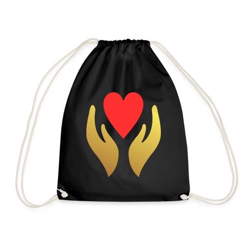 Our Sacred Hearts - Drawstring Bag