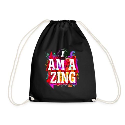 I am Amazing - Drawstring Bag