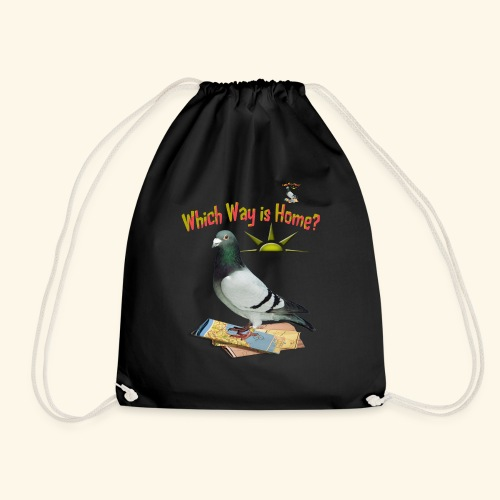 Which Way is Home - Drawstring Bag