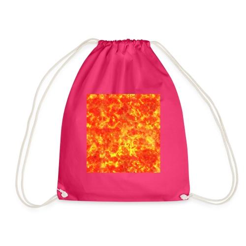 mens tee - Drawstring Bag