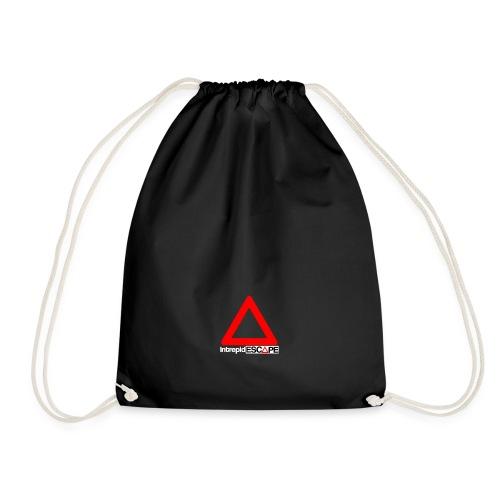 Intrepid Logo1 - Drawstring Bag