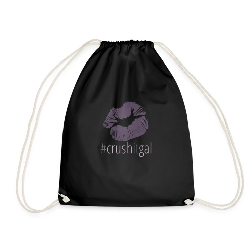 #crushitgal - Drawstring Bag