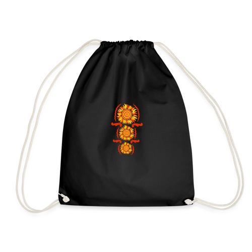 Three suns - Drawstring Bag